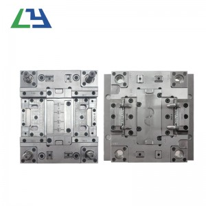 High shell precision plastic injection mold for moulding plastic maker/abs plastic moulding custom